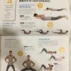 腹割30日プログラム再開→4日目メニュー(3日目【健康アンチエイジング:記事393】