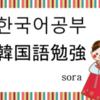 【韓国語】「悩みができたようです~」고민이 생겼나 봐요