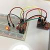 BLE Nano を光センサー CdS と組み合わせる