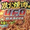 日清焼そば「UFO炭火焼肉味 極太混ぜそば」を食べた レビュー