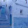 モロッコ1人旅行記 青の街 シェフシャウエン  メディナの夕方① 街の景色を写真でまとめてみました~^^