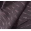 着物生地(357)矢羽絣模様織り出し手織り真綿小千谷紬