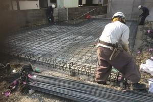 池田鉢塚プロジェクトの現場確認④(基礎着工編)