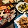 〆お寿司晩酌。