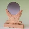 大きな神鏡4寸 土台の素材も良い 上品