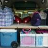 【キャンプ】軽四ハコバンでファミリーキャンプ!荷物の積み方!