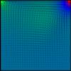 【差分法】HSMAC法で中心差分を用いてNavier-Stokes方程式を解きました C++コード付き