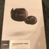 BOSEのワイヤレスイヤフォン SoundSport Free wireless headphones を購入しました