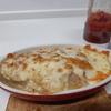 【簡単・レシピ・じゃがいも・チーズ】 こんがりチーズ「じゃがいものミルフィーユ焼き」♪