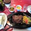 今日の昼食は「ブローナ」でランチステーキ