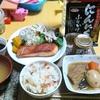 【今日の食卓】鮭、ちらし寿司、タイの煮物+「おばあちゃんのにんにくみそ」で放射線デトックス