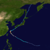 The upcoming typhoon suppose to be similar to Typhoon Talim 2017