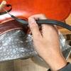 5弦チェロ 上ナット と 魂柱