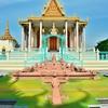 プノンペンの象徴、「王宮とシルバーパゴダ」~王室の隣、菩提寺のシルバーパゴタ②