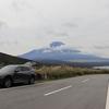 富士山初冠雪と聞いてはるばる山中湖まで行ってきたよ
