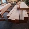 構造材の加工開始