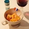 レモングラス風味のカマンベールフライ*ククパカテゴリ入と恐怖の足元うさぎの巻
