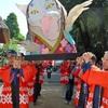 熊本)「猫寺」で春の大祭 化け猫みこしが初登場