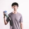 [ま]そうだプロテインを飲もう!/腹筋ローラー続けてます @kun_maa