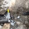 20年前のスキーブーツが粉々に壊れた。これが加水分解というやつか