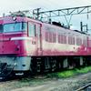 この1枚から 赤い機関車・ED76
