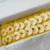 バナナケーキとセントポーリアの土の手入れ