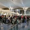 春秋航空 9C8516(羽田→上海浦東)A320 上海出張(往路)