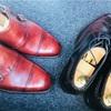 【愛用品】革靴にトゥスチール取付とハーフラバー張り