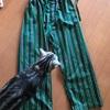 旦那のパジャマをリフォーム。ちょっとした事でまた復活!!