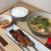 6/26  酸辣湯、納豆、ジャスミン米、焼鳥 @家ごはん