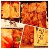 長崎浜屋全国うまいもの博~叙々苑焼肉弁当&道産牛ローストビーフ海鮮弁当~