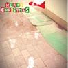 サンタさんの足跡。