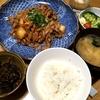 キムチの辛味と旨みがおいしい豚キムチ・さんまの塩焼き