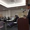 国道153号改良期成同盟会総会へ