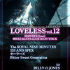 【THE ROYAL NINE MINUTES】 3/1@幡ヶ谷ヘビーシック「LOVELESS vol.13」