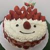 【X'mas】クリスマスケーキ手作りレシピ【サンタ飾り】