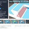 【新作無料アセット】UnityのナビゲーションシステムNavMeshを最適化するツール!移動可能なNavMeshのみ作成し、ファイルサイズを削減してパフォーマンスを向上「NavMesh Cleaner」