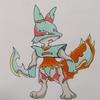 ダークドレアム(ポケモン風) DarkDream, Pokemon style.
