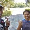志賀高原エクストリームトレイルに向けて、桧原公園で仕上げのラン2時間。瀬口さんとも遭遇したよ。