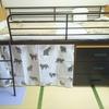 ロフトベッドにカーテンを付けてみました!お気に入りの空間、グレードアップ!
