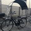 ≪自転車用の雨よけカバー≫大阪産コロポックル「ギャラクシー」(新型)ファーストコンタクト