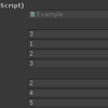 【Unity】【Odin - Inspector and Serializer】配列やリストで項目の並べ替えや削除が可能