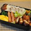 赤魚煮付とイカフライのお弁当