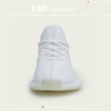 【YEEZY BOOST 350 V2 WHITE】END. 抽選申込 受付中