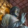 男2人、ようやく奈良の大仏を見に行く