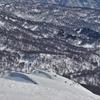 ◆'21/02/28     初   湯殿山⑥…森林限界付近~石跳沢左岸へ
