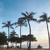 アラモアナ・ビーチパークのサンセット#ハワイ留学
