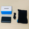 【モバイルバッテリー】『Anker PowerCore 10000』買ってみたよ!軽いし、充電早いし、複数回充電できて便利すぎる!!