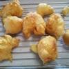 週末に息子のおやつを作ってみた~豆腐ドーナツボール~(見た目は天かすのような何か笑)