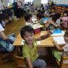 今日の幼稚園  忍者コーナー